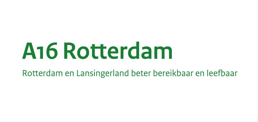 A16 Rotterdam beeldmerk